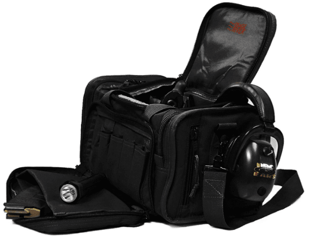 Black Osage River Tactical Shooting Gun Range Bag